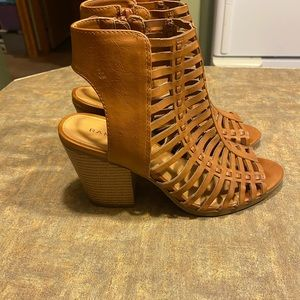 Rampage Voda Caged Dress Sandals